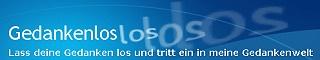 Banner Gedankenlos 320 x 60 Pixel